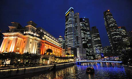 Singapore-financial-district